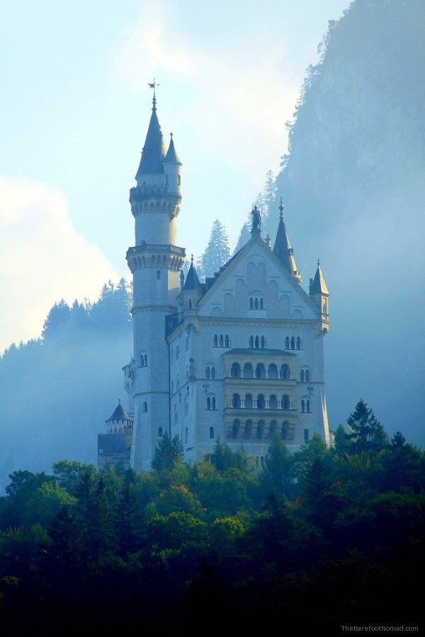 Neuschwanstein castle by O Palsson on Flickr