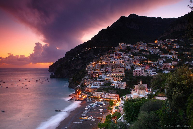 Positano Amalfi Coast Italy by hozinja on Flickr