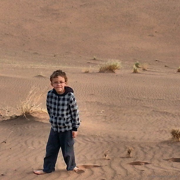 Cole in the Sahara