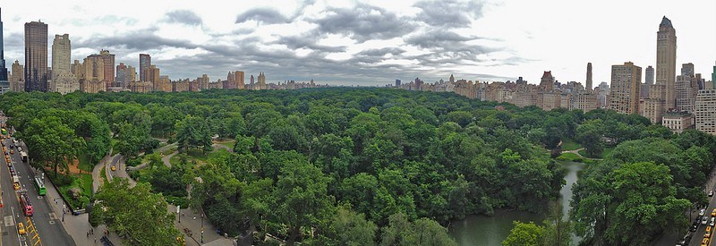 Panaorma of Central Park by Steve Jurvetson on Flickr