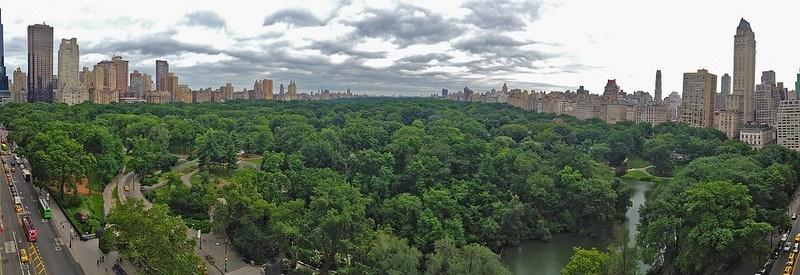 Panaorma of Central Park by Steve Jurvetson on Flickr