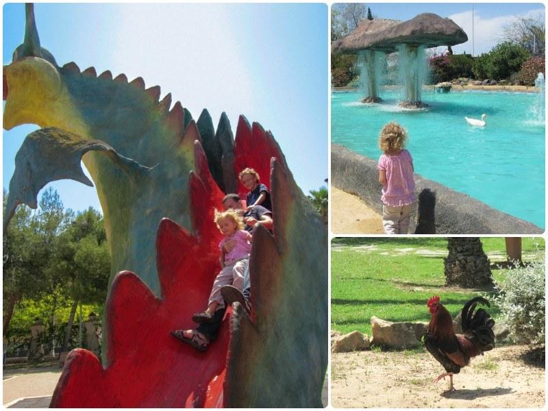 The Dragon Slide at Jardín de las Naciones in Torreveija