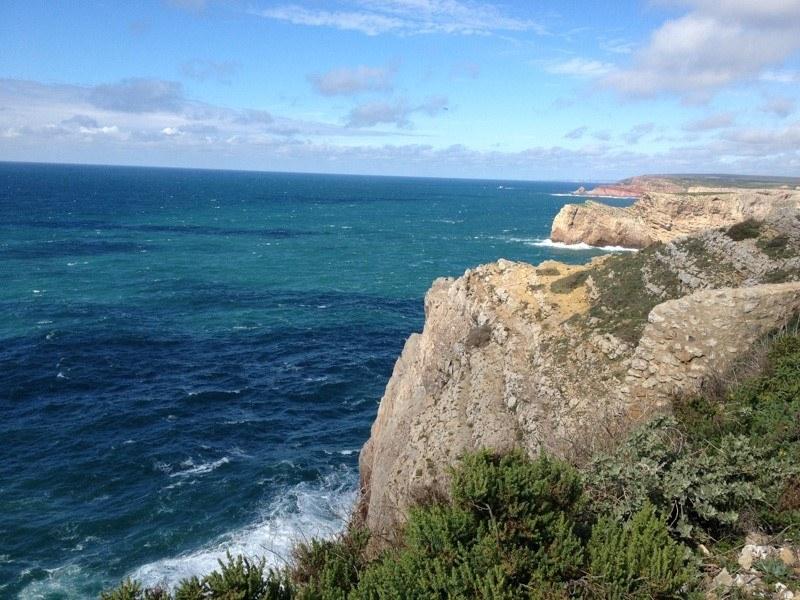 Cliffs at Cape St. Vincent