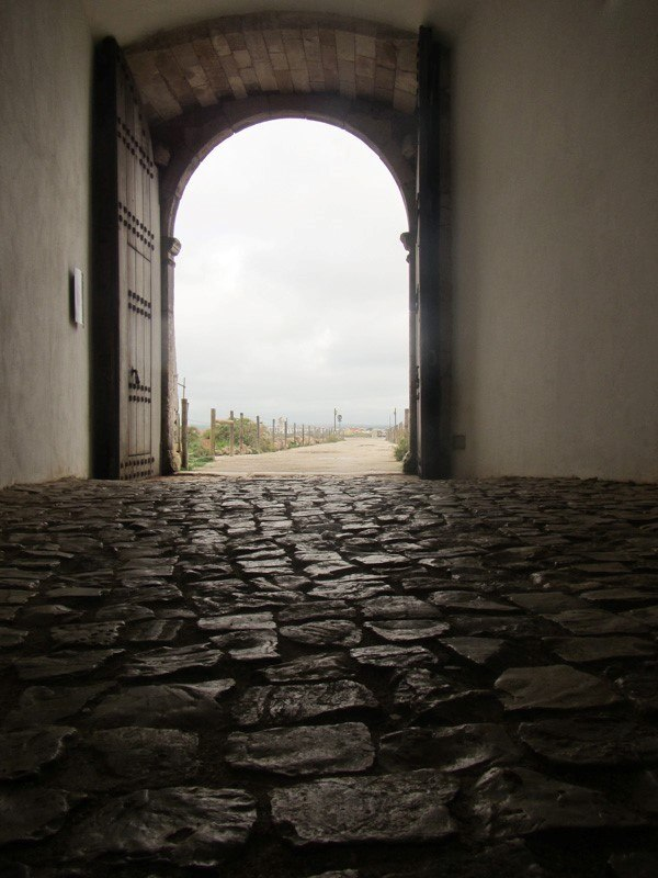 Archway into Sagres Point