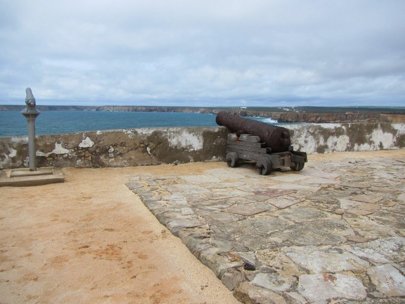 Sagres Point Cannon