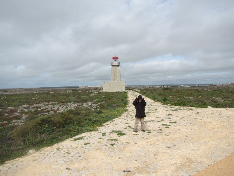 Windy shot at Sagres Point