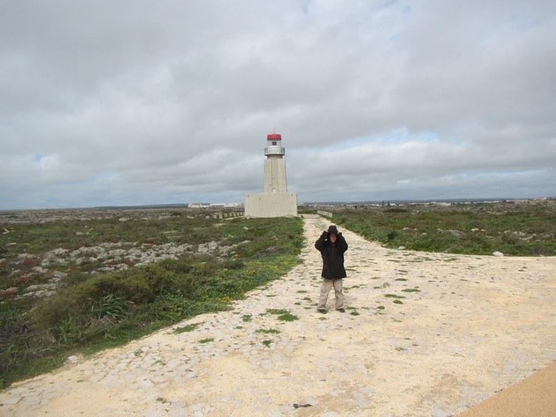 Windy shot at Sagres Point