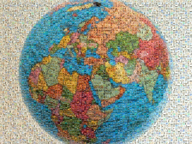 The World in Mosaic The Barefoot Nomad