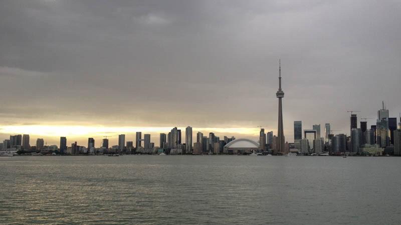 Skyline in Toronto, Canada