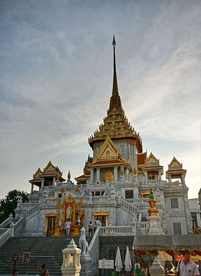 Wat Traimit by Heiko S on Flickr