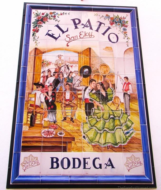 El RaPatio Bodega tile