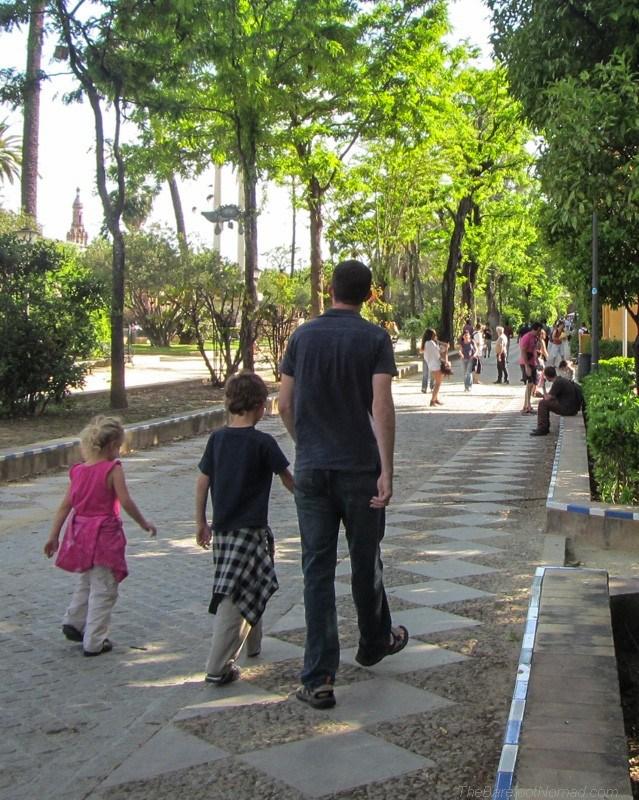 A leafy walk in Seville