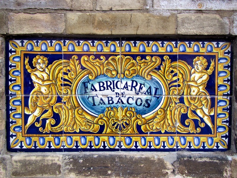 Tiles in Seville