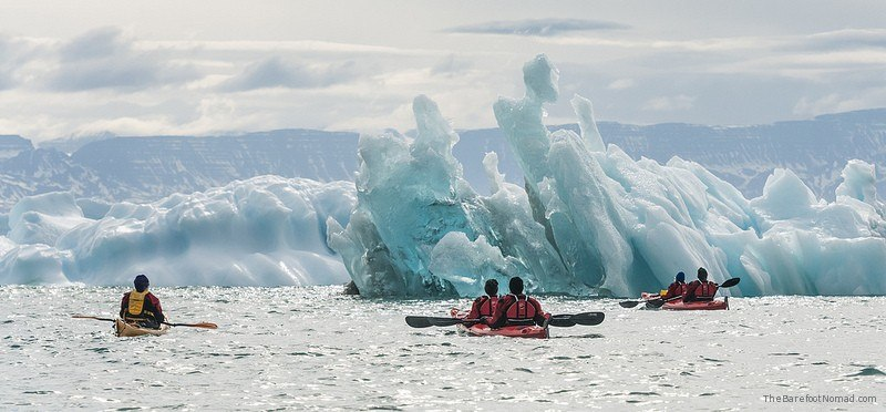 Kayaking in Greenland Photo by Visit Greenland on Flickr