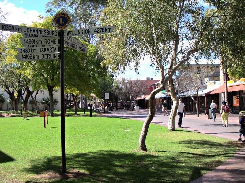 Alice Springs Australian Outback