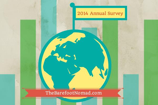 2014 Survey The Barefoot Nomad