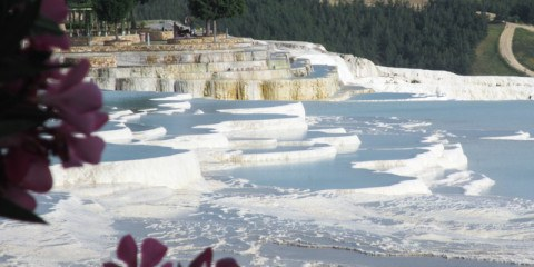 The picture perfect travertine terraces of Pamukkale
