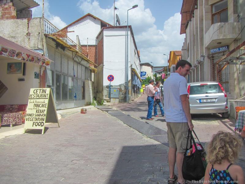 Pamukkale town street