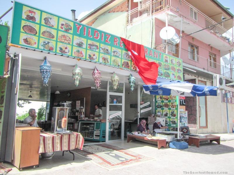 Yildiz Restaurant Pamukkale Town Turkey