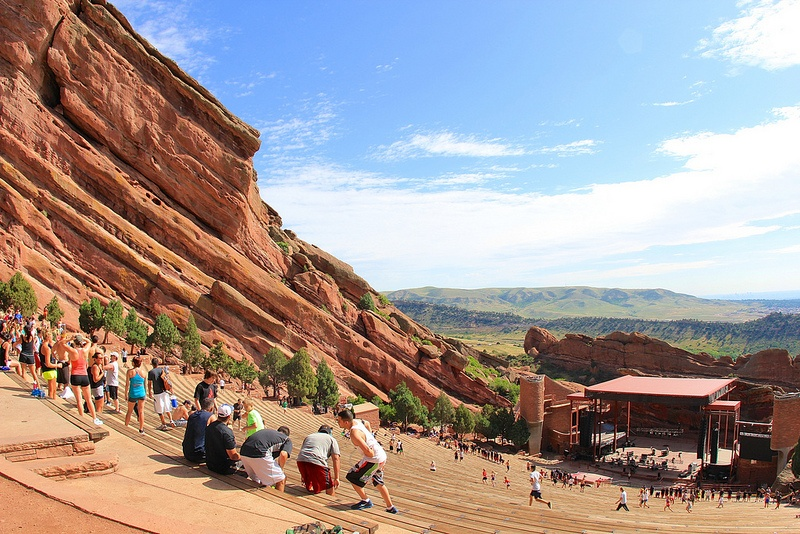 Red Rocks Amphitheater by daveynin on Flickr
