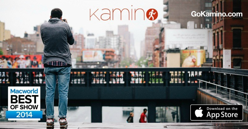 Kamino hiking app