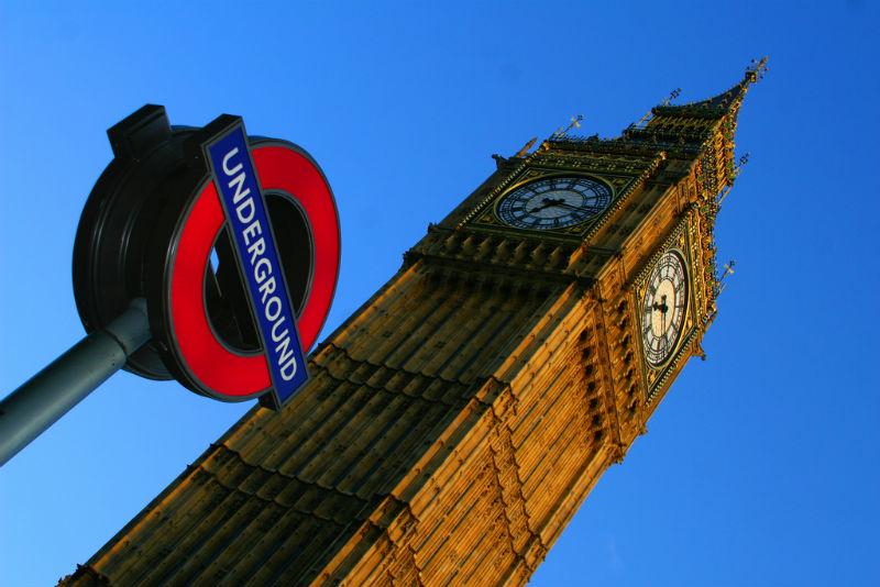 London Underground and Big Ben anthony kelly