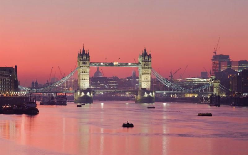 Tower Bridge & Skyline by Jim Trodel