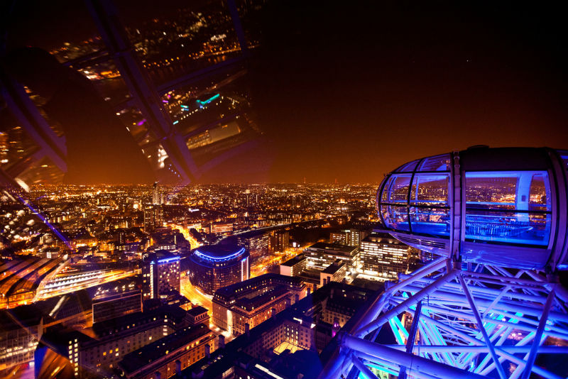 View from the London Eye by Tom Thai on Flickr