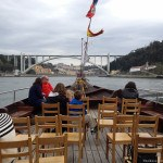 View from our short cruise along the Douro River
