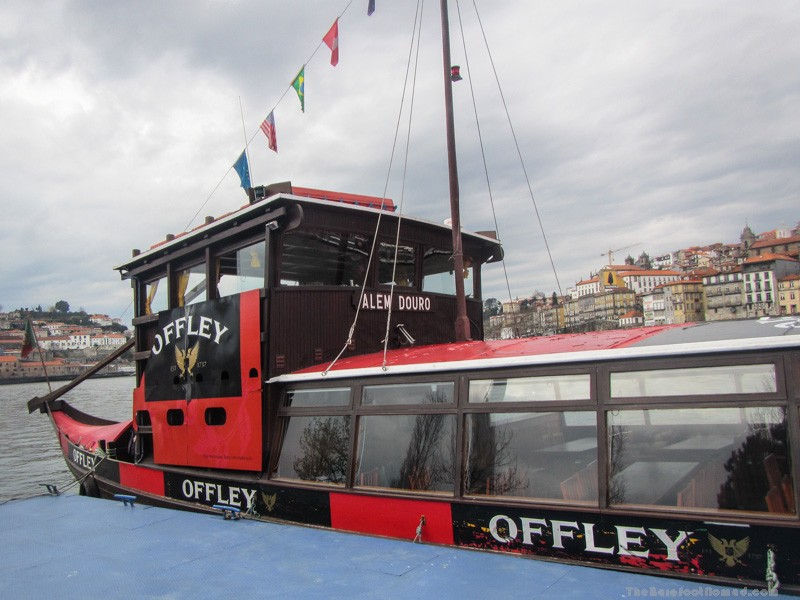 Our boat for the Douro River cruise
