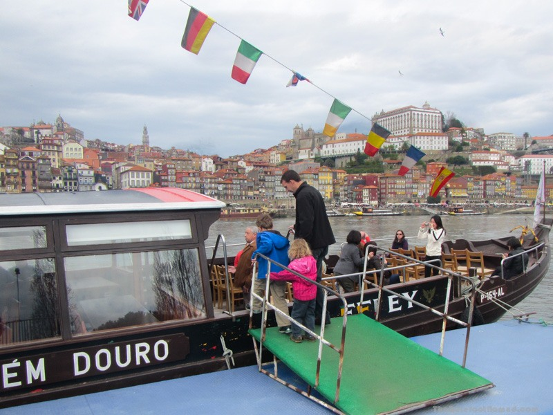Boarding for the Douro cruise