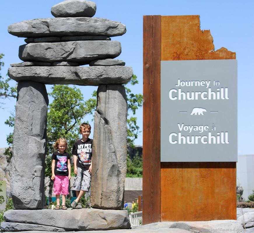 Entering Journey to Churchill at the Winnipeg Assiniboine Park Zoo
