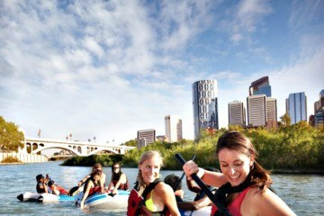 Calgary Floating on the Bow River Tourism Calgary