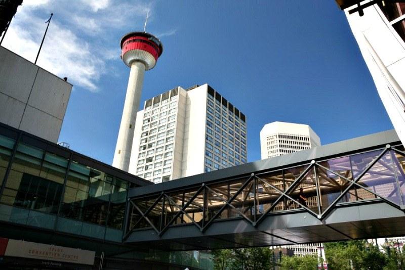 Calgary Plus 15 Photo thanks to Tourism Calgary