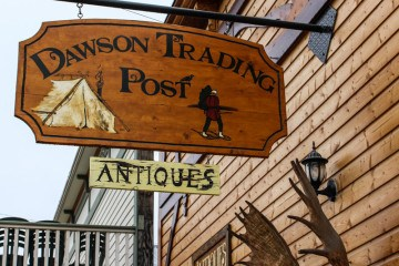 Dawson City Trading Post Yukon
