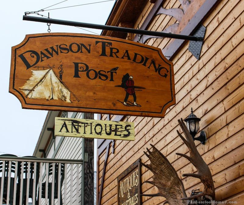 Dawson City Trading Post Yukon