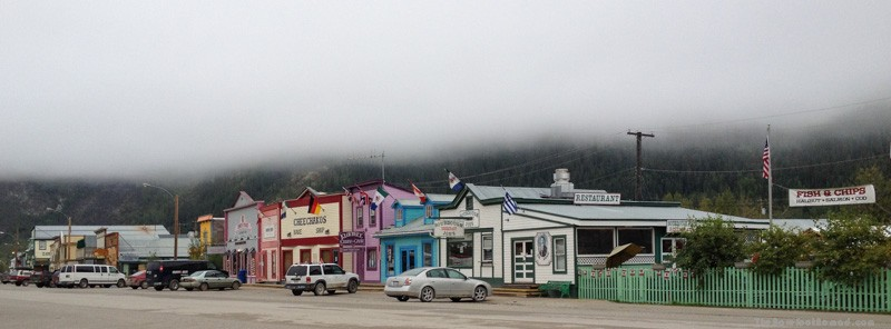 Downtown Dawson City Yukon