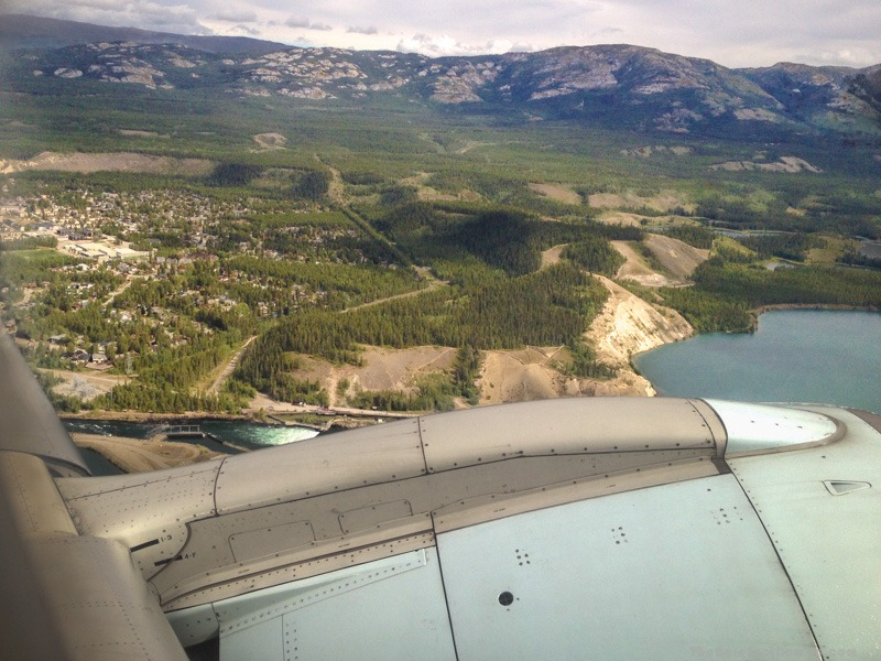 The view from Air North