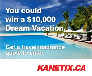 Enter to win a $10,000 Dream Vacation From Kanetix.ca and GMS