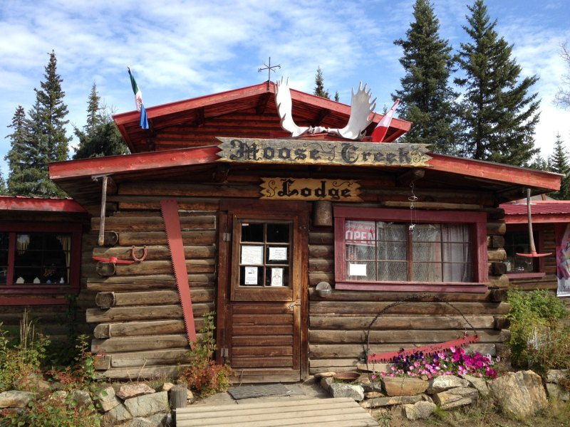 Colorful and quirky Moose Creek Lodge