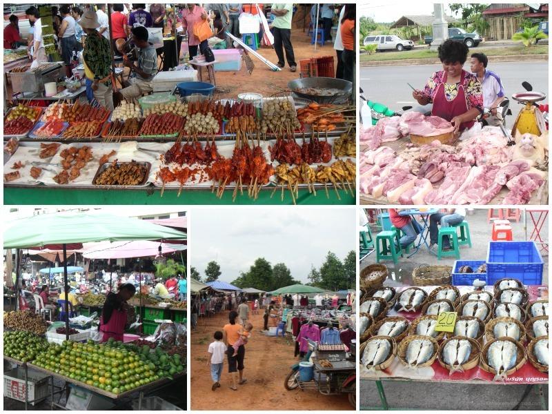 Street Market in Krabi Thailand The Barefoot Nomad
