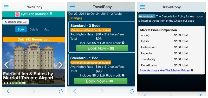 Travel Pony App Toronto Oct 23 2014