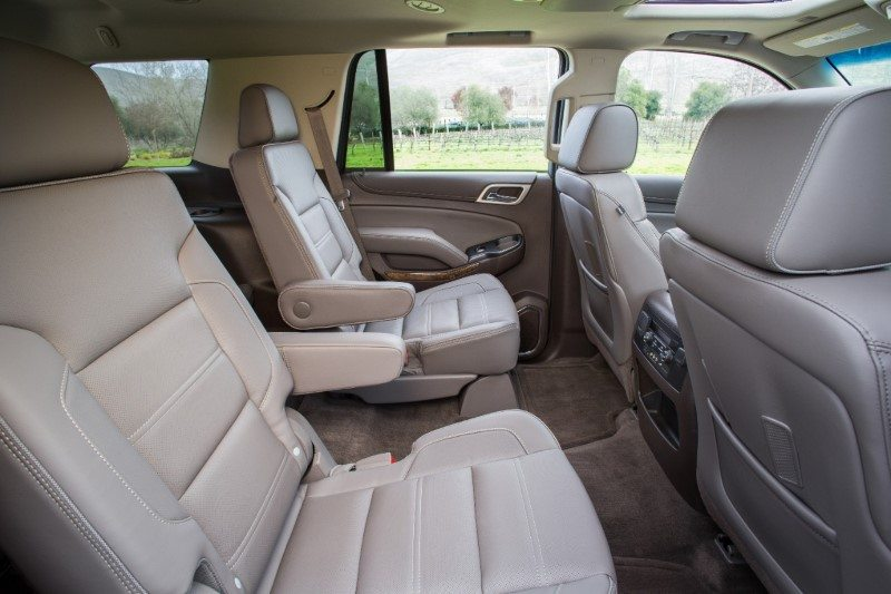 Yukon Denali Backseat