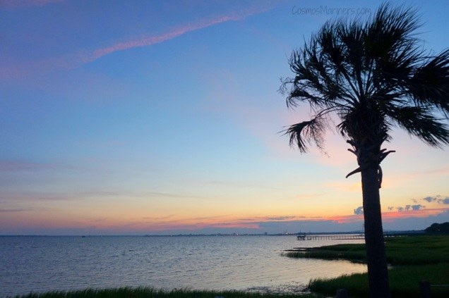 Charleston South Carolina sunset