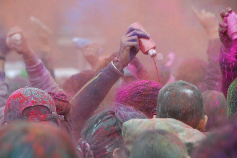 Holi Festival by FaceMePLS on Flickr