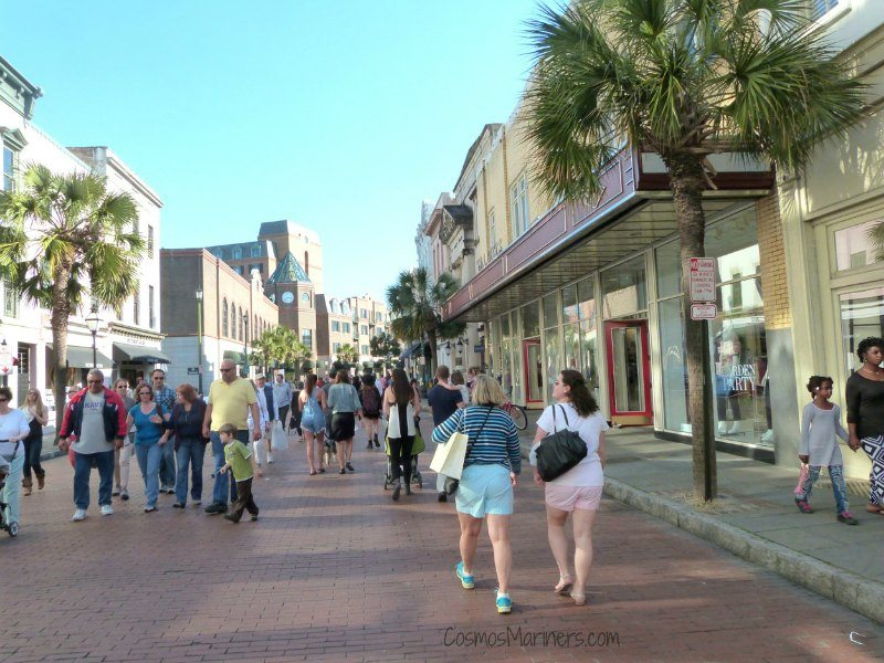 King Street Restaurants Charleston South Carolina