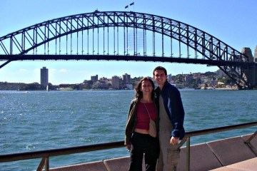 Micki and Charles in Sydney Australia