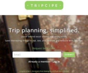 Tripcipe
