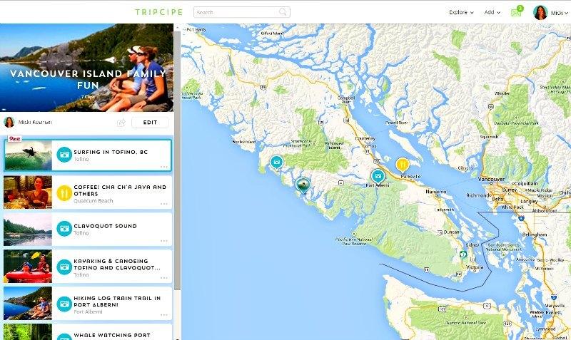 Tripit Vancouver Island Family Fun Tofino