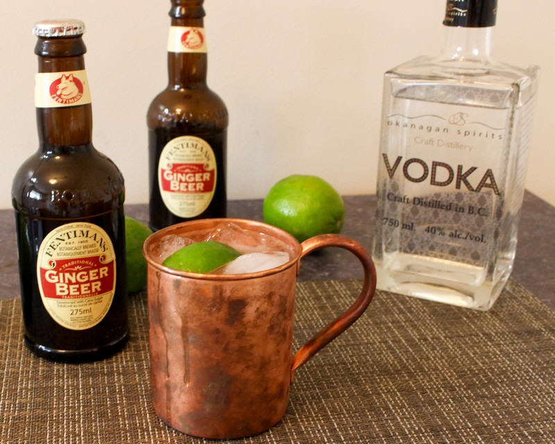 Moscow Mule Okanagan Spirits Vodka